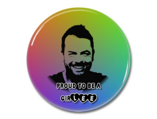 Regenbogen-Button-Shop